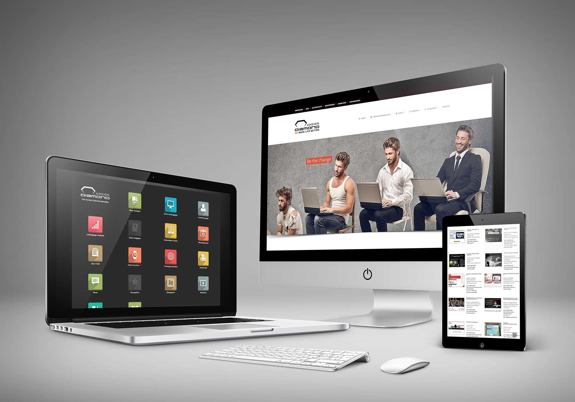 DAS24 – Multi Level Marketing Applikation